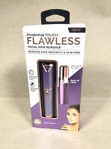 Flawless Finishing Touch Women's Painless Hair Remover, Lavender/Rose Gold