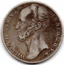 HOLLANDE Guillaume II 1 Gulden 1846
