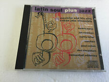 MACHITO AND HIS AFRO CUBAN JAZZ ENSEMBLE Latin Soul Plus Jazz CD 12 Track (cdcha