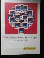 Timbre-poste et pédagogie 1996