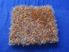 Schal - rund - orange meliert - Warm - gestrickt,A`