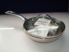New Princess House Stainless Steel Mini Saute Pan 6357