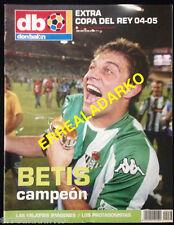 DON BALON EXTRA REAL BETIS  CAMPEON COPA DEL REY 2004-05