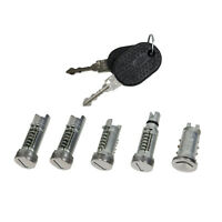 Schließzylinder Türschloss Satz 5 Stück Schlüssel Fiat Cinquecento 170