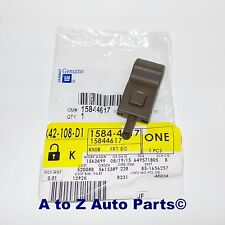 Chevrolet Silverado,Tahoe,GMC Sierra,Yukon Front or Rear TAN Door Lock Knob, OEM