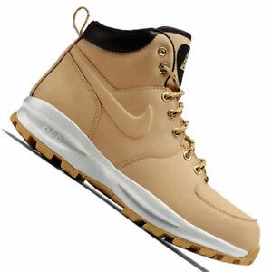 Nike Manoa Leather Herren-Winterschuhe Outdoor Boot Stiefel Leder Leather NEU