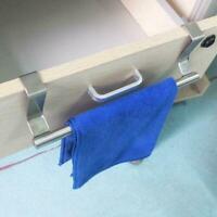 Kitchen Cupboard Hanger Steel Bathroom Towel Cabinet Stand Rack Z5I2