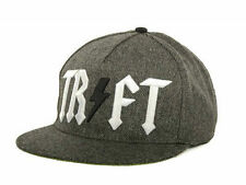 TRUKFIT CHARCOAL TR FT Snapback Hat Black Grey OSFA ($32) CAP Wayne Adjustable