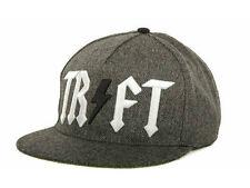 TRUKFIT CHARCOAL TR FT Snapback Hat Black Grey OSFA ($32) CAP Wayne Adjustable