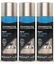 3 Stainmaster CARPET HIGH TRAFFIC CLEANER Removes Ground-in Dirt Spray 22 oz