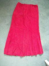 Wallis Calf Length Cotton Plus Size Skirts for Women
