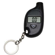 1PC Hotsale Car Auto LCD Digital Tyre Tire Pressure Gauge Keychain Black Best
