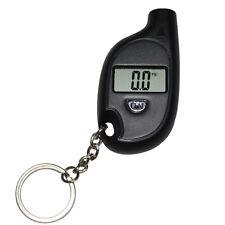 1PC Hotsale Car Auto LCD Digital Tyre Tire Pressure Gauge Keychain Black Best