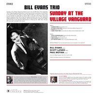 BILL TRIO EVANS - SUNDAY AT THE VILLAGE VANGUARD   VINYL LP NEU