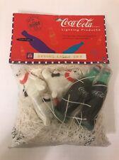 Coca Cola String Light Set Vintage 1996 Lighting Products Polar Bear Coke Bottle