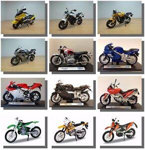 1:18 Motorbikes, Triumph, Honda, Yamaha, kawasaki, etc, New & Sealed