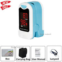 FDA Finger Pulse Oximeter Blood Oxygen Saturation SPO2 Heart Rate O2 Monitor NEW