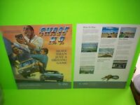 CHASE HQ Video Arcade Game Magazine Trade Ad Ready To Frame Artwork TAITO
