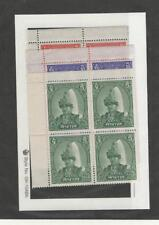 Nepal, Postage Stamp, #150-151A Blocks Mint NH, 1966 (p)