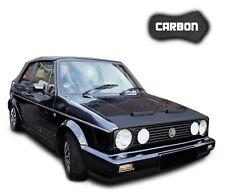 Haubenbra VW Golf 1 Caddy 1 Jetta 1 CARBON Hood Bra Steinschlagschutz Front mask