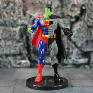 Super Hero Superman X Batman PVC Action Figure Collectible Model Toy 18cm New