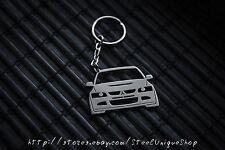 Mitsubishi EVO Stainless Steel Keychain