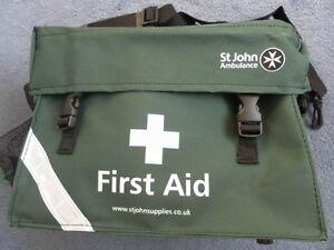 St John Ambulance First Response Bag - Empty F30186 Aider Paramedic