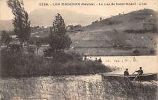 LES MARCHES - lac de saint André - L' ile