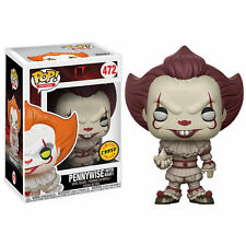 Funko POP! Movies - IT - Pennywise [With Boat CHASE] #472 Vinyl Figure IN STOCK
