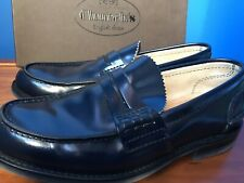 ONLY WORN ONCE! BRAND NEW CHURCH'S TUNBRIDGE SHOES IN SIZE 7 1/2 MARINE BLUE