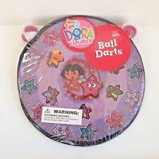Nick Nickolodeon Dora The Explorer STICKY BALL DART GAME Indoor Outdoor OOP NEW