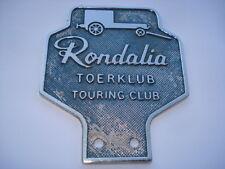 C1950S VINTAGE RONDALIA TOERKLUB TOURING CLUB CAR BADGE