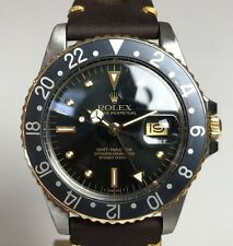 Vintage Rolex GMT Plastic Quick Set Ref. 16753 Wristwatch