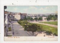 Souvenir De Corfou Esplanade Greece Vintage U/B Postcard 941a