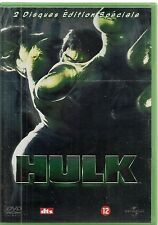 2 DVDS ZONE 2 COLLECTOR--HULK--ANG LEE/BANA/CONNELLY/ELLIOTT/LUCAS/NOLTE