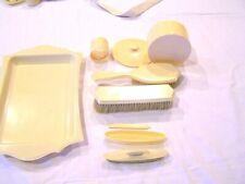 Celluloid vanity set - 7 pieces