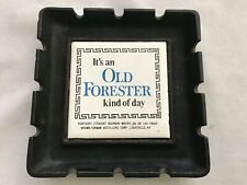 Old Forester Cast Iron & Tile 1930's Ashtray, Japan