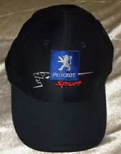 Embroidered Peugeot Sport Logo Blue Baseball Cap Adjustable Strapback