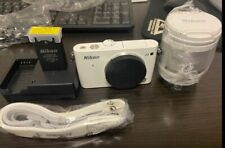 Nikon 1 J3 White(Kit w/ VR 10-100mm Lens) 14.2 MP Digital Camera 10X Zoom