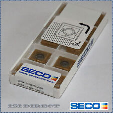 SONX 120508TR ME08 F40M SECO *** 10 INSERTS *** FACTORY PACK ***