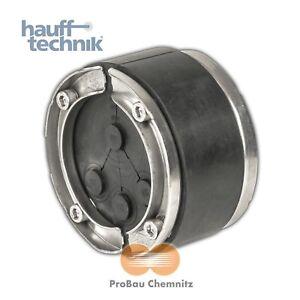 Hauff Ringraumdichtung HSD 100-RWD für 4 Rohre/Kabel 1 x 25/32/40 u. 3 x 6-18 mm