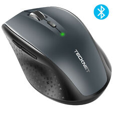 TeckNet Bluetooth Wireless Mouse Compact 6 Buttons 3000/2000/1600/1200/800 DPI