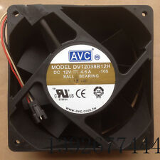AVC DV12038B12H 12038 120mm DC 12V 4.5A high speed axial cooling fan #M2121 QL