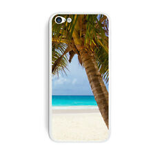 Tropical Palm Tree Ocean Beach - Skin Sticker Case for iPhone 5C - Set of 2