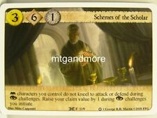 A game of thrones LCG - 1x schemes of the scholar #119 - ice and fire draft