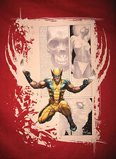 Marvel/DC: WOLVERINE RED VENGEANCE T-Shirt (M) - 40% OFF, SALE