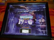 WWE PLAQUE UNDERTAKER VS TRIPLE H WRESTLEMANIA 27 SIGNED AUTO AUTOGRAPH PSA/COA