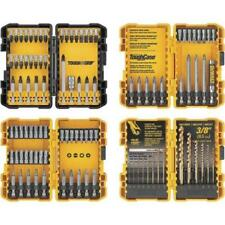 DeWALT 100-Piece Complete Drill & Drive Screwdriver Bit Set w/ 4 Hard Cases New