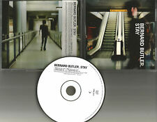 Suede BERNARD BUTLER Stay RADIO EDIT PROMO DJ CD single USA 1998 PRINTED LYRICS