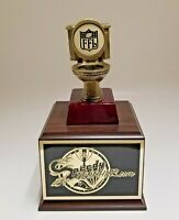 FANTASY FOOTBALL TROPHY 12 YEAR LAST PLACE TOILET BOWL - FREE ENGRAVING!!!!